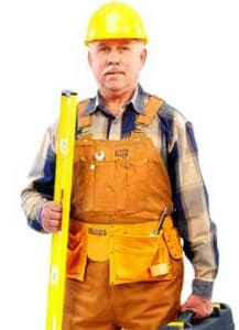 Calgary reliable roofing company worker