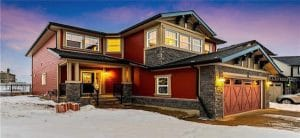 Calgary home with new roof and new shingles