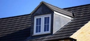 Calgary roof leak needs new shingles like this