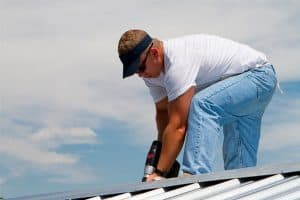 Calgary metal roofing installer